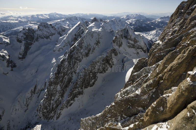 山阿尔卑斯在意大利 免版税库存图片