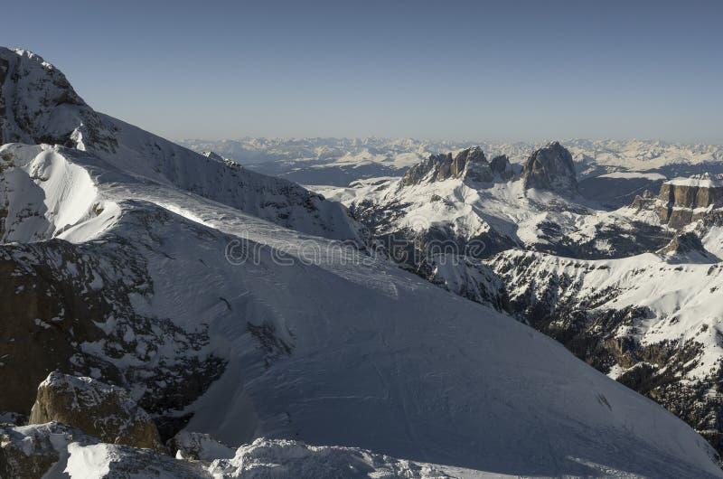 山阿尔卑斯在意大利 免版税库存照片