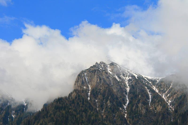 山顶层 库存照片
