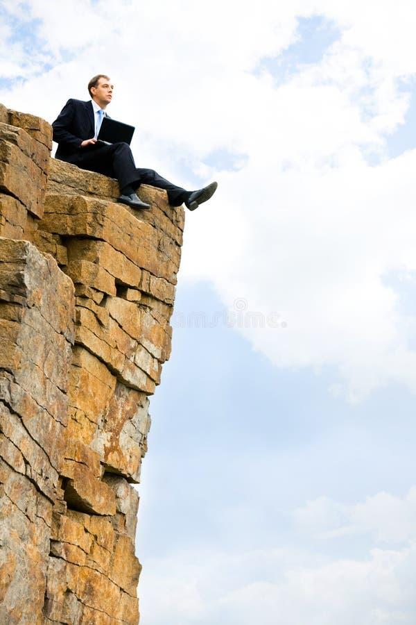 山顶层 免版税图库摄影