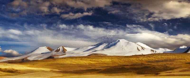 山风景,高原Ukok 库存图片