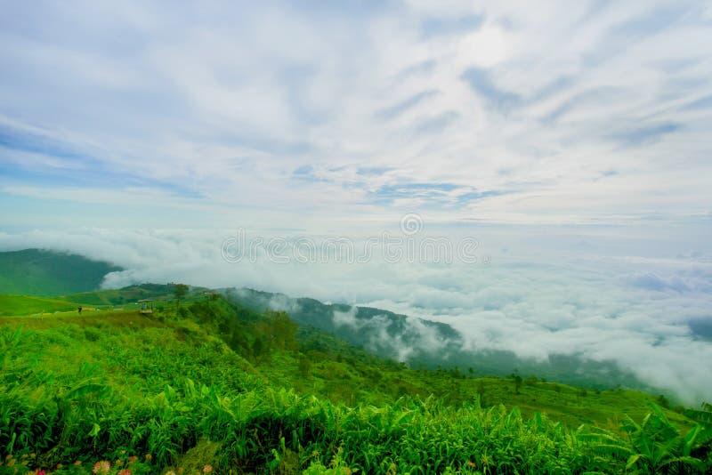 山,山脉,云彩-天空, Cloudscape, 免版税库存图片