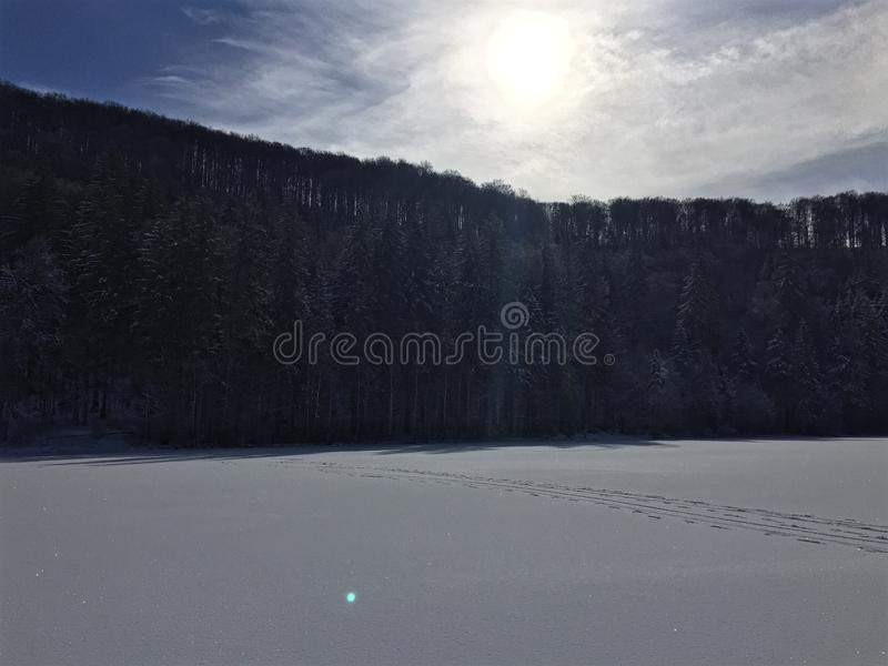 山,罗马尼亚 库存照片