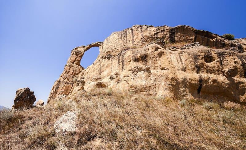 山`圆环`白种人矿泉水的吸引力` `斯塔夫罗波尔疆土 莫斯科 免版税库存图片