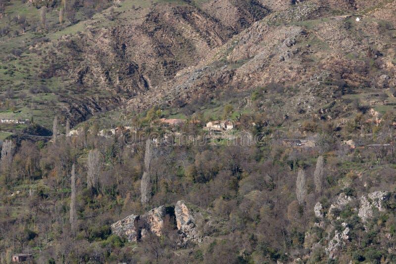 山水坝湖在北阿尔及利亚 图库摄影