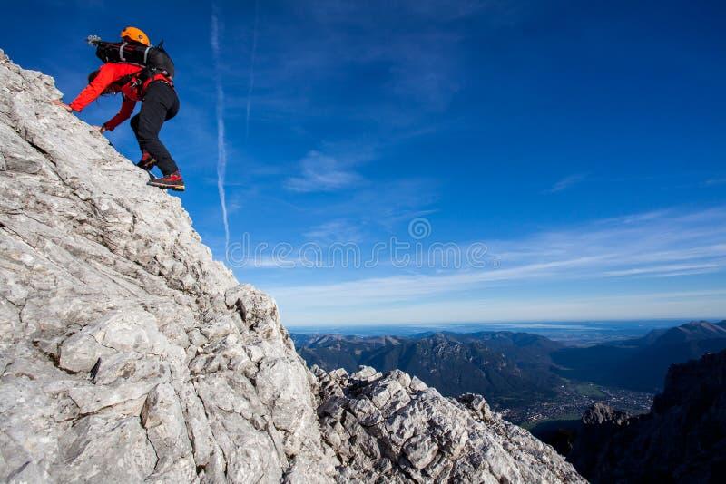 登山 库存照片