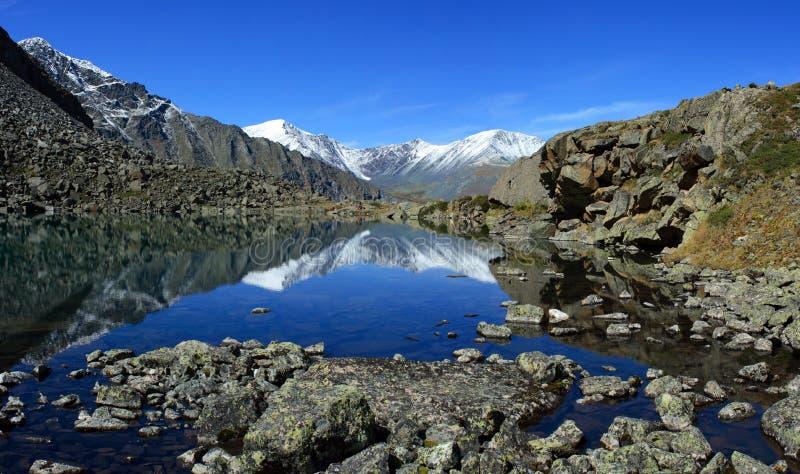 山Altai 免版税库存照片
