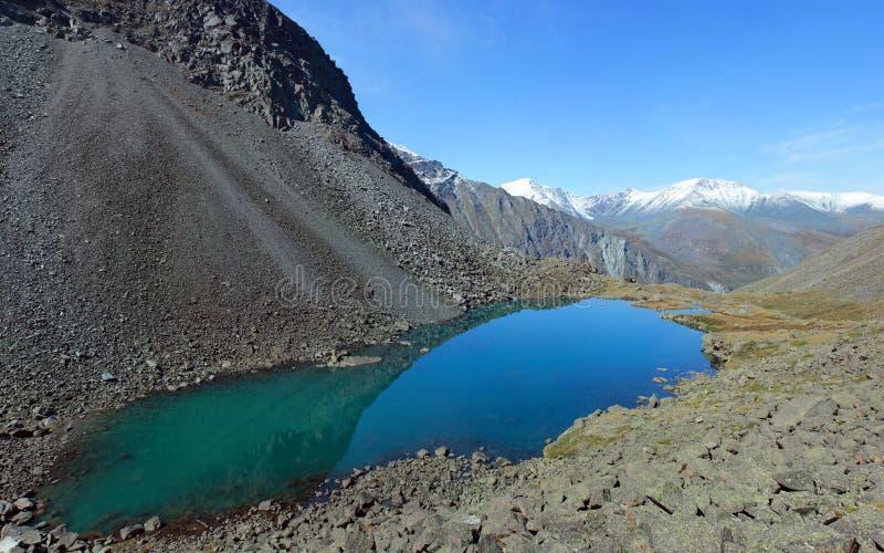 山Altai 库存图片