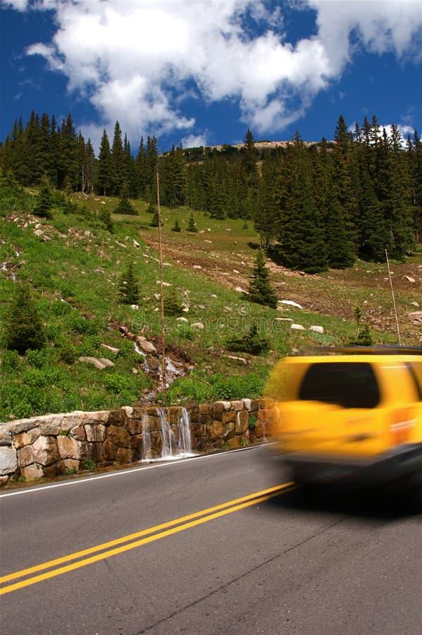 山np岩石旅行假期 库存照片