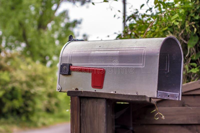 岗位的美国邮箱 库存图片
