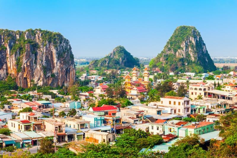 岘港大理石山,岘港市 库存照片
