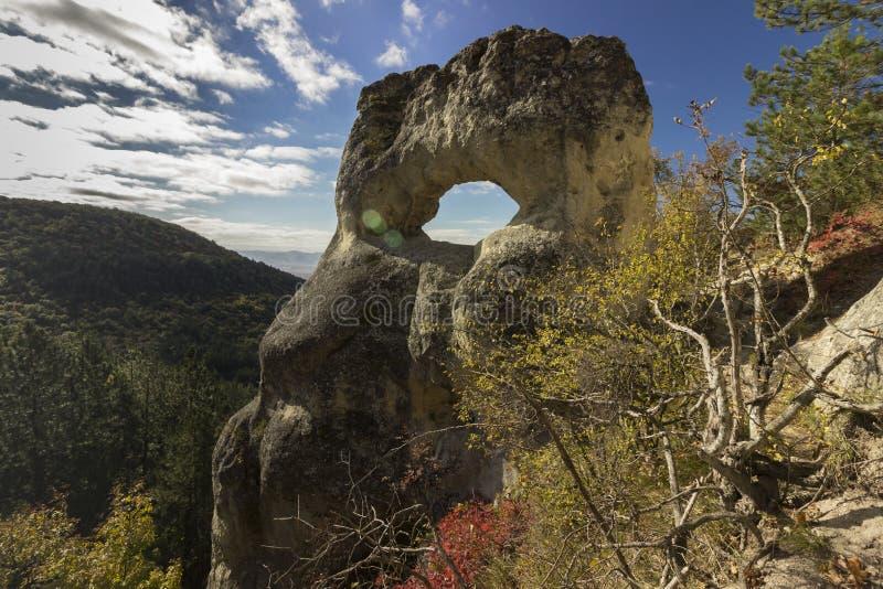 岩层眼睛 免版税图库摄影