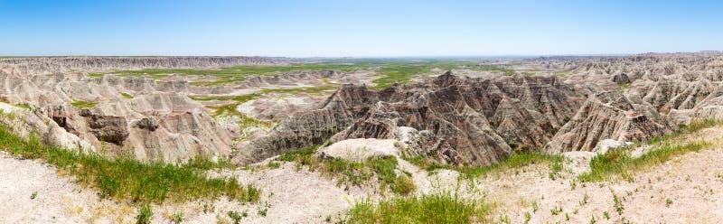岩层风景看法在晴天 免版税图库摄影