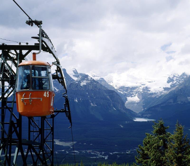 岩石亚伯大banff加拿大的山 免版税图库摄影