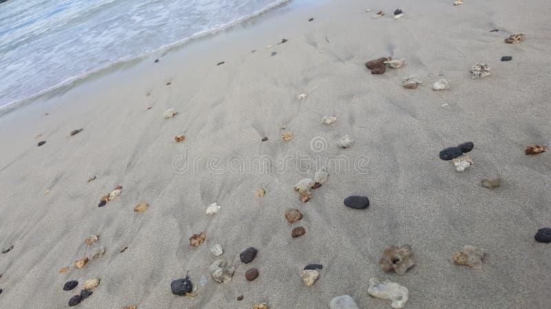 岩石和沙子 库存照片