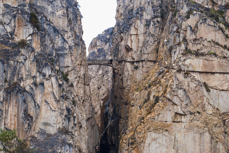 岩石在西班牙 库存图片