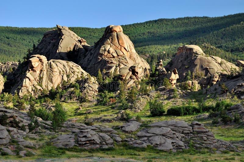 岩石在Barnaul 库存图片