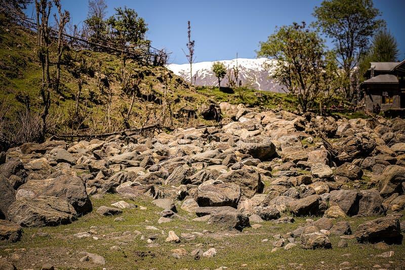 岩石地方 免版税图库摄影