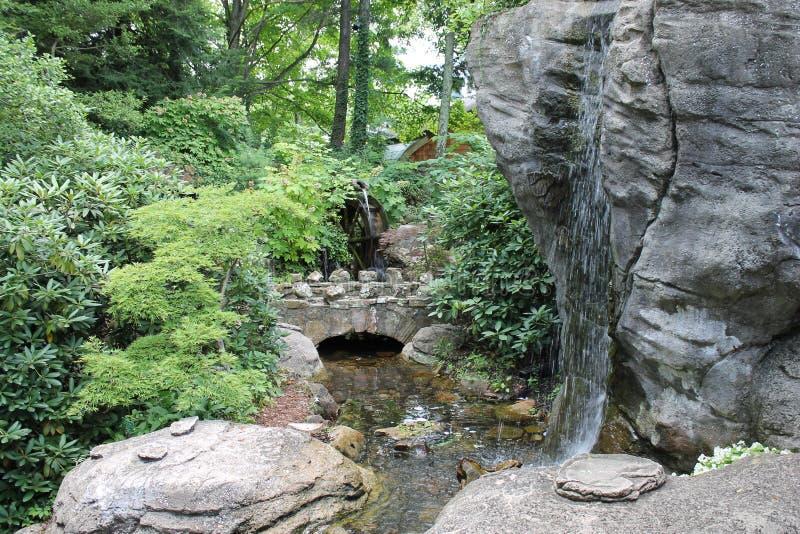 岩石城市庭院,加得奴加, TN 免版税库存图片