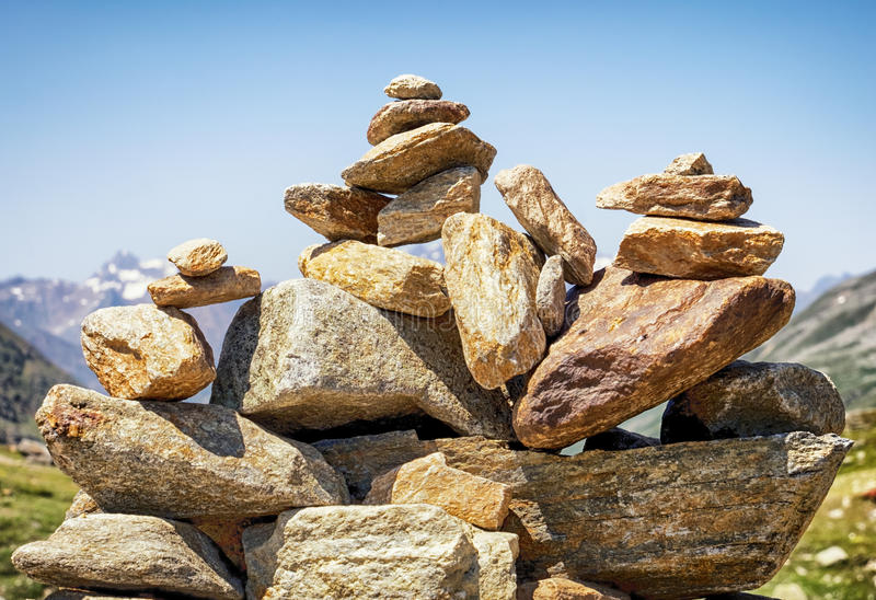 岩石堆 图库摄影