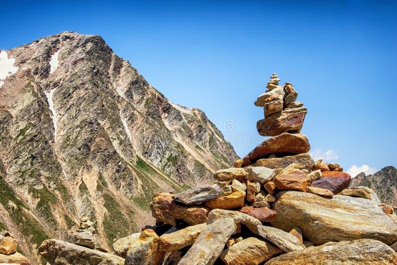 岩石堆 免版税库存图片
