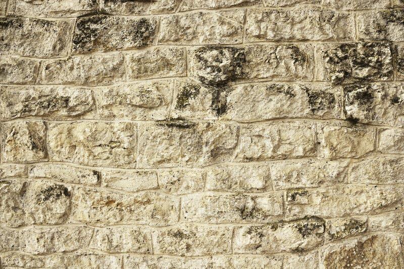 岩石墙壁纹理 免版税库存图片