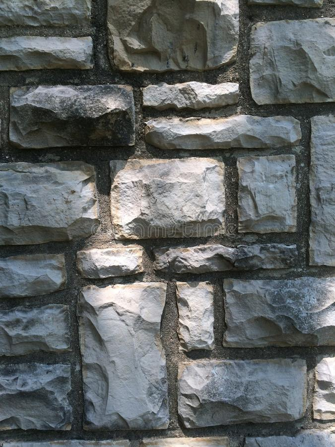 岩石墙壁 免版税图库摄影