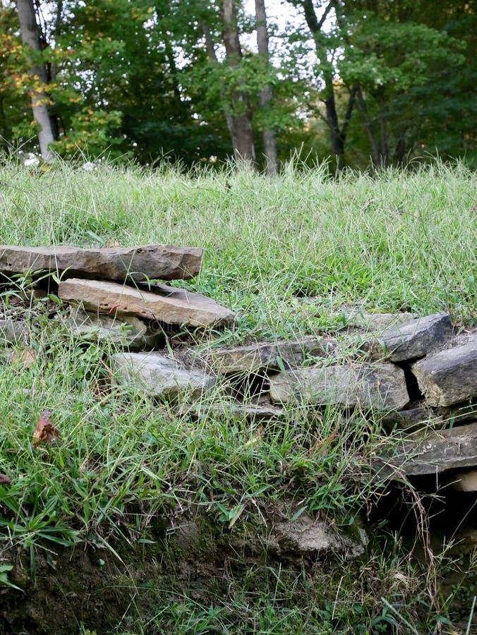岩石壁架 库存照片