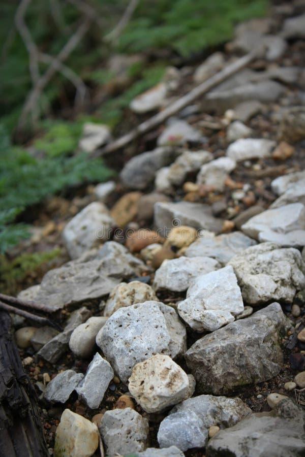 岩石小山  库存图片