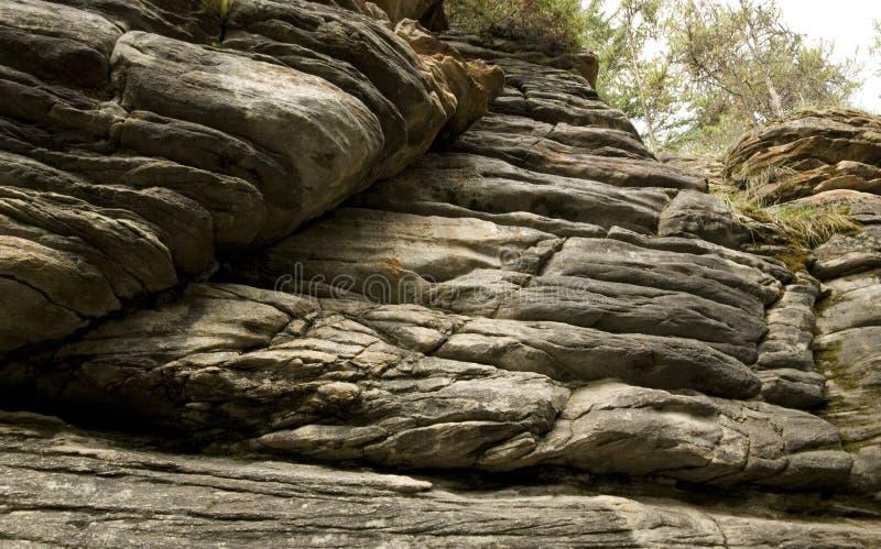 岩石层数 免版税库存图片