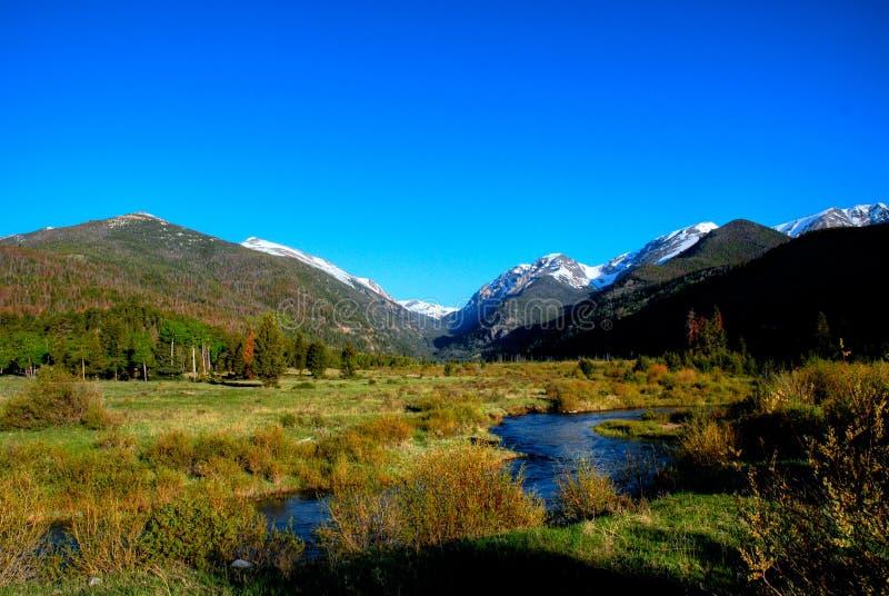 岩石山的国家公园 免版税库存照片