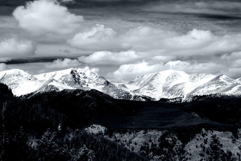 岩石山的国家公园 免版税库存图片