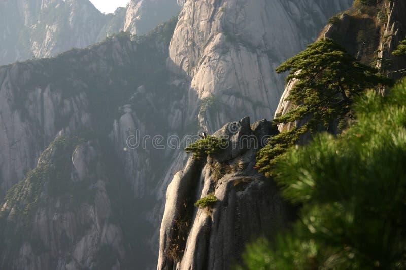 岩石山腰 库存照片