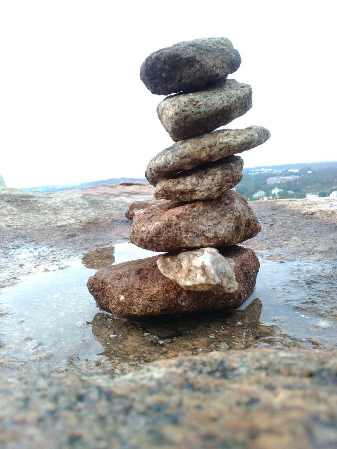 岩石平衡 免版税库存照片