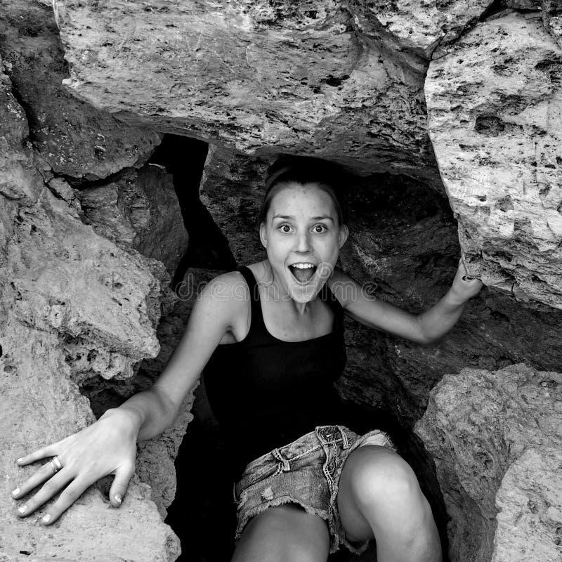 岩石惊奇 库存照片
