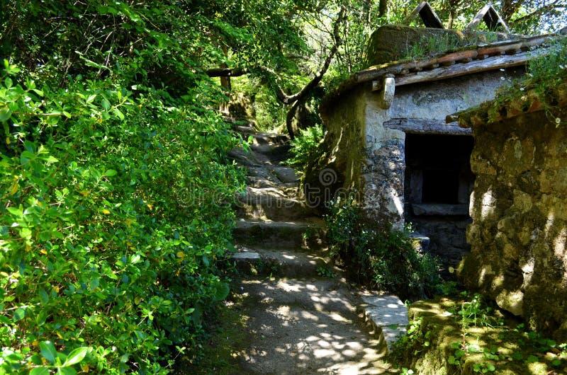 岩石房子 免版税图库摄影