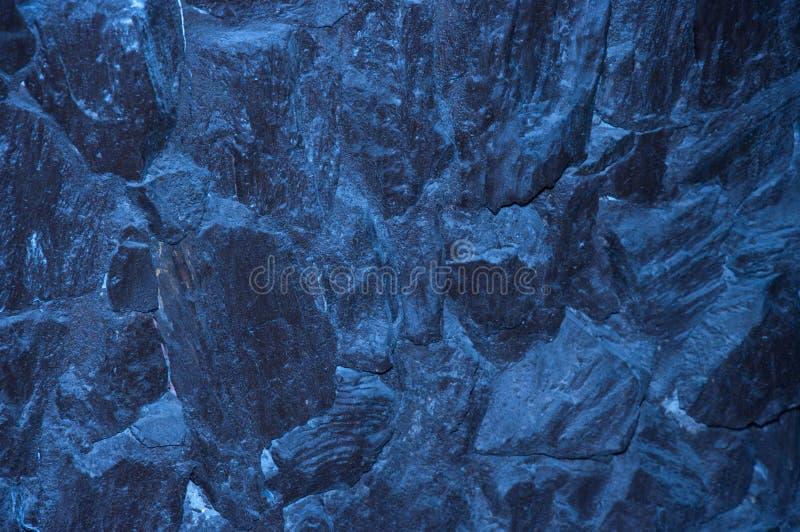 岩石构造水中 免版税图库摄影