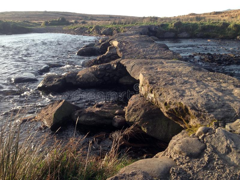 岩石桥梁在基拉尼国立公园 免版税库存照片