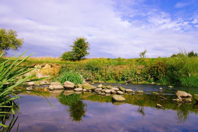 岩石水池在河阔德 免版税库存照片