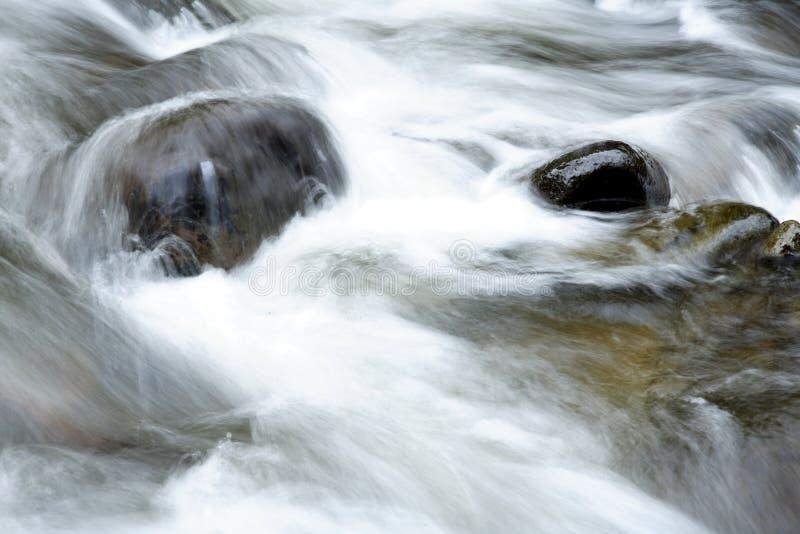 岩石流 免版税图库摄影