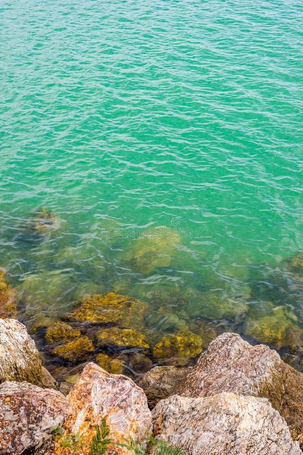 岩石海景 库存图片