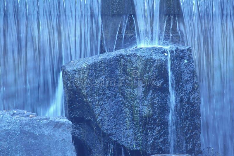 岩石瀑布 库存照片