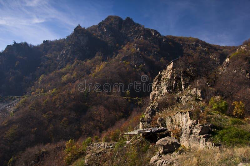 岩石的一点教会 库存照片