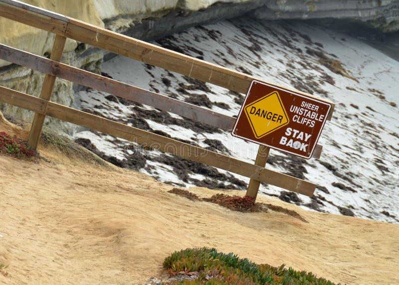 岩石的峭壁浸泡 库存图片