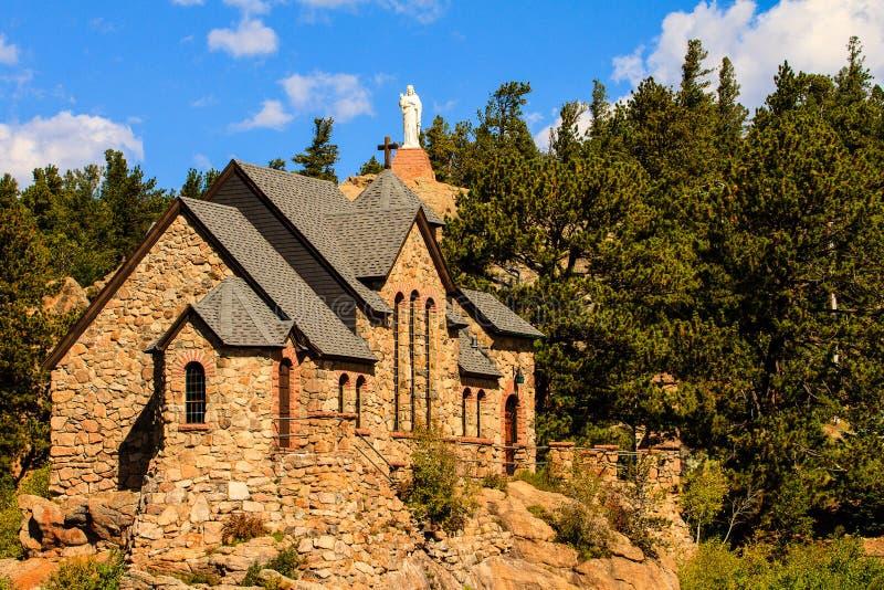 岩石的教堂 库存图片