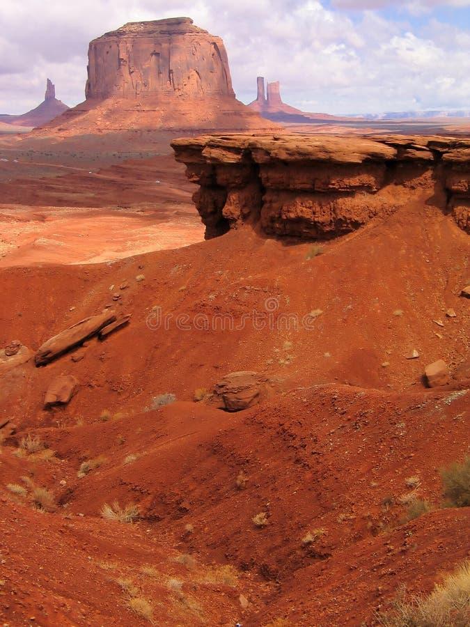 岩石的曲拱 免版税库存图片
