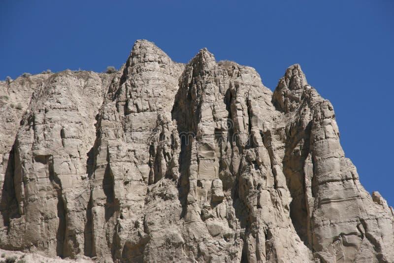 岩石的横向 免版税库存照片
