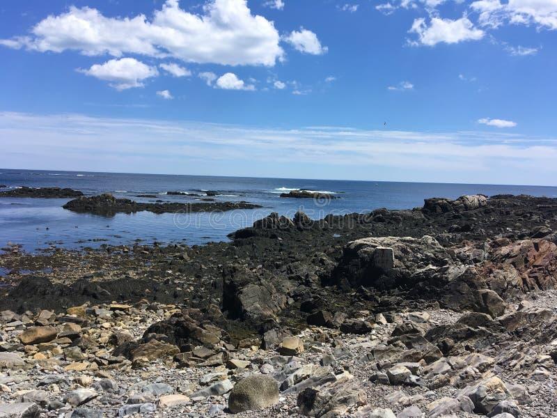 岩石的海洋 免版税库存照片