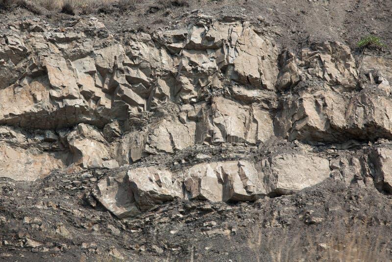 岩石的片段 库存图片