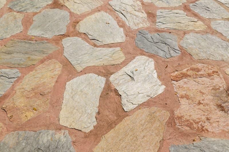 岩石的路 库存图片